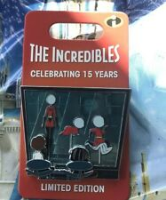 Disney Parks Pixar The Incredibles 15th Anniversary Edna Mode Pin Le 3000 New