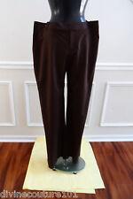 NEW ST.JOHN BROWN DRESS PANT SIZE 16 (TOBACCO)