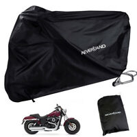 NEVERLAND Motorcycle Cover Waterproof For Harley-Davidson Dyna Street Fat Bob