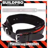 "BuildPro All Rounder Belt 40"" Leather Heavy Duty Stitching Back Support LBBAR40"