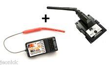 Flysky FS TH9X B Module FS RM002 receiver FS-R6B 2.4G 9CH for turnigy 9X 9XR PRO