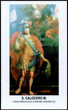 "santino-holy card""S.CALOCERO M.-BARONE CANAVESE"
