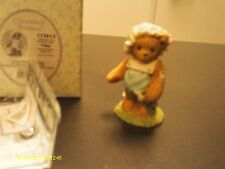 Cherished Teddies . Paige - w/ daisies - Thanks for picking me 2003