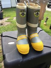 A.R.F.F. Aircraft Rescue Fire Fighter Boots size 12 Medium Excellent Condition