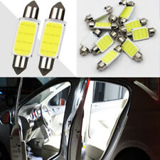 2Pcs COB 39mm White Festoon Interior Dome LED Reading Light Car Xenon Lamp Bulbs