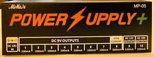 Pedal Board Power Supply - 10 Isolated Guitar DC Output For 9V/12V/18V Effect