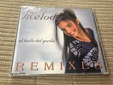 MELODY - EL BAILE DEL GORILA REMIXES CD SINGLE SEALED PRECINTADO EPIC 2001