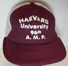 VTG 1980s HARVARD UNIVERSITY 96TH AMP ADVANCED MANAGEMENT PROGRAM SNAPBACK HAT
