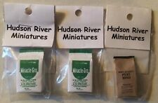 Miracle-Gro & Peat Moss Hudson River Dollhouse Miniatures New