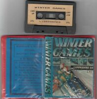 WINTER GAMES n. 191 Commodore 64 e 128 C64 C128 Videogioco