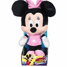 """Disney Mickey Mouse Clubhouse Minnie Mouse Plush Soft Toy - 10"""" Boxed"""