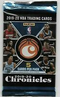 1 - 2019-20 NBA BASKETBALL PANINI CHRONICLES 5 Card Pack - Brand New Sealed!