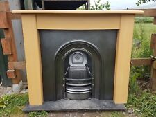 155 Cast Iron Fireplace Fire Arch Arched Antique Victorian Style Surround Old