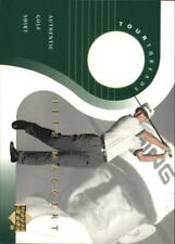 2001 Upper Deck Tour Threads Golf Card #TTJM Jeff Maggert