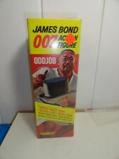 1960'S JAMES BOND 007 ODDJOB ACTION FIGURE GILBERT MIB STORE STOCK SEALED