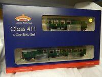 Bachmann BR Green 4 Car CEP EMU class 411 7128 Train pack ref 31-426