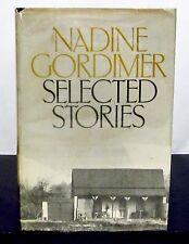 1st/1st NADINE GORDIMER - SELECTED STORIES HCDJ