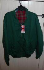 Made in England XL Green Harrington Retro Jacket BNWT CHEST 52 MOD SKINHEAD