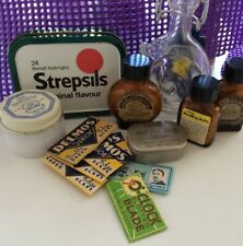 Amami Nail Polishing Stone,smelling Salts & Other Vintage Collectables