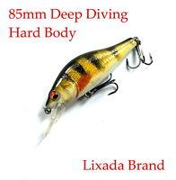 Lixada Fishing Lures Trout Bass Barra Flathead Redfin Yellowbelly Cod Freshwater