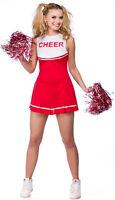 Lindsay High School Animadora Traje rojo nuevo - Mujer Carnaval Revestimiento