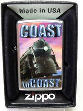 """Zippo """"VINTAGE TRAIN COAST EN Coast"""" - neuf et dans l'emballage d'origine - #893"""