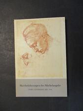 HANDZEICHNUNGEN DES MICHELANGELO Insel-Bücherei Nr. 444  1965