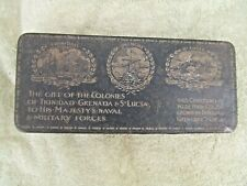 WW1 Armed forces Colonies Chocolate Tin Trinidad Grenada St Lucia