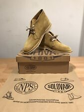 NPS SOLOVAIR Yellow Suede Chukka Desert Boots! Size UK10! New! Only £109.90!