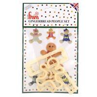 FMM Sugarcraft - Gingerbread People Set - Cake Decoration Cutters