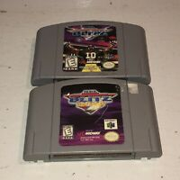 NFL Blitz & 2000 Game Lot N64 Authentic Nintendo 64 TESTED Fun Football Games