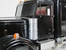 Pair Simulate Aluminum Air Cleaner Intake Can Tamiya R/C 1/14 Grand King Hauler