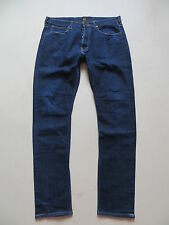Lee HEATH slim Fit tapered Jeans Hose, W 34 /L 34, Dark Indigo Stretch Denim !