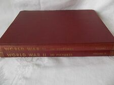World War 2 in Pictures Vol 1 & 2 Copyrit 1942 Doubleday/1945 Journal of Living