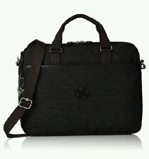 Kipling Opere Kaitlyn Dazz Nero Laptop Messenger Lavoro Business Valigetta £ 74NEW