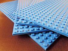 "Genuine LEGO piece-brick + 4 5""x10"" Base plates 16x32 compatible with LEGO"