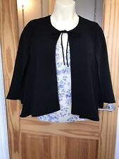 Black Cape Jacket Zara Small New With Tags
