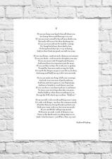 graphic relating to If by Rudyard Kipling Printable known as If Rudyard Kipling in just Artwork Prints for sale eBay