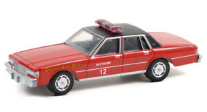 GREENLIGHT 1:64 CHICAGO FIRE DEPARTMENT - 1990 CHEVROLET CAPRICE [PREORDER]
