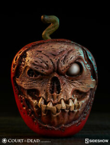 Sideshow Court of the Dead ROTTEN VERSION Skull Apple Statue NEW Prop Replica