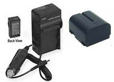 BN-V408U, BN-V408, BN-V408U-H, Battery + Charger for JVC GR-D30 GR-D70U GR-D72U