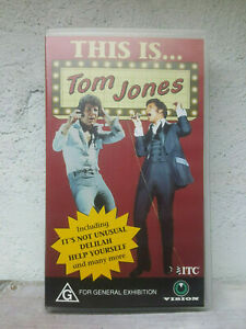 This is Tom Jones VHS VIDEO TAPE - 1992 ITC 18 tracks from 1969-71 - RARE