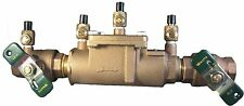 """1"""" Double Check Valve Backflow Assembly Lead Free Watts LF007M1-QT"""