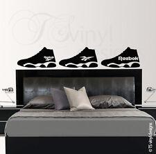 Mens, Blokes, Boys, Trainer Vinyl Wall Art Sticker Graphic Various Designs