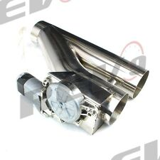 """REV9 V2 UNIVERSAL 2.5"""" EXHAUST CATBACK ELECTRIC CUTOUT KIT W/ REMOTE RACING 64MM"""