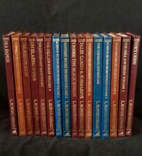 The L. Ron Hubbard Classic Fiction Series (leather bound) 16 volumes, RARE