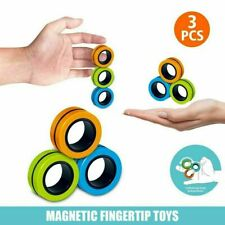 Fingears Magnetic Ring Toy - Finger Spinner Toy Multi Activity Stress Relief
