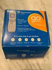 Sony Ericsson Cingular Basic Cellular Flip Phone Z300A