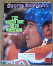 2/18/1985 Sports Illustrated Wayne Gretzky Edmonton Oilers Indiana Basketball
