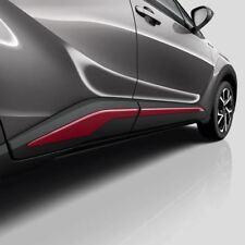 Genuine Toyota C-HR Red Side Sills - PW156-10000-DH